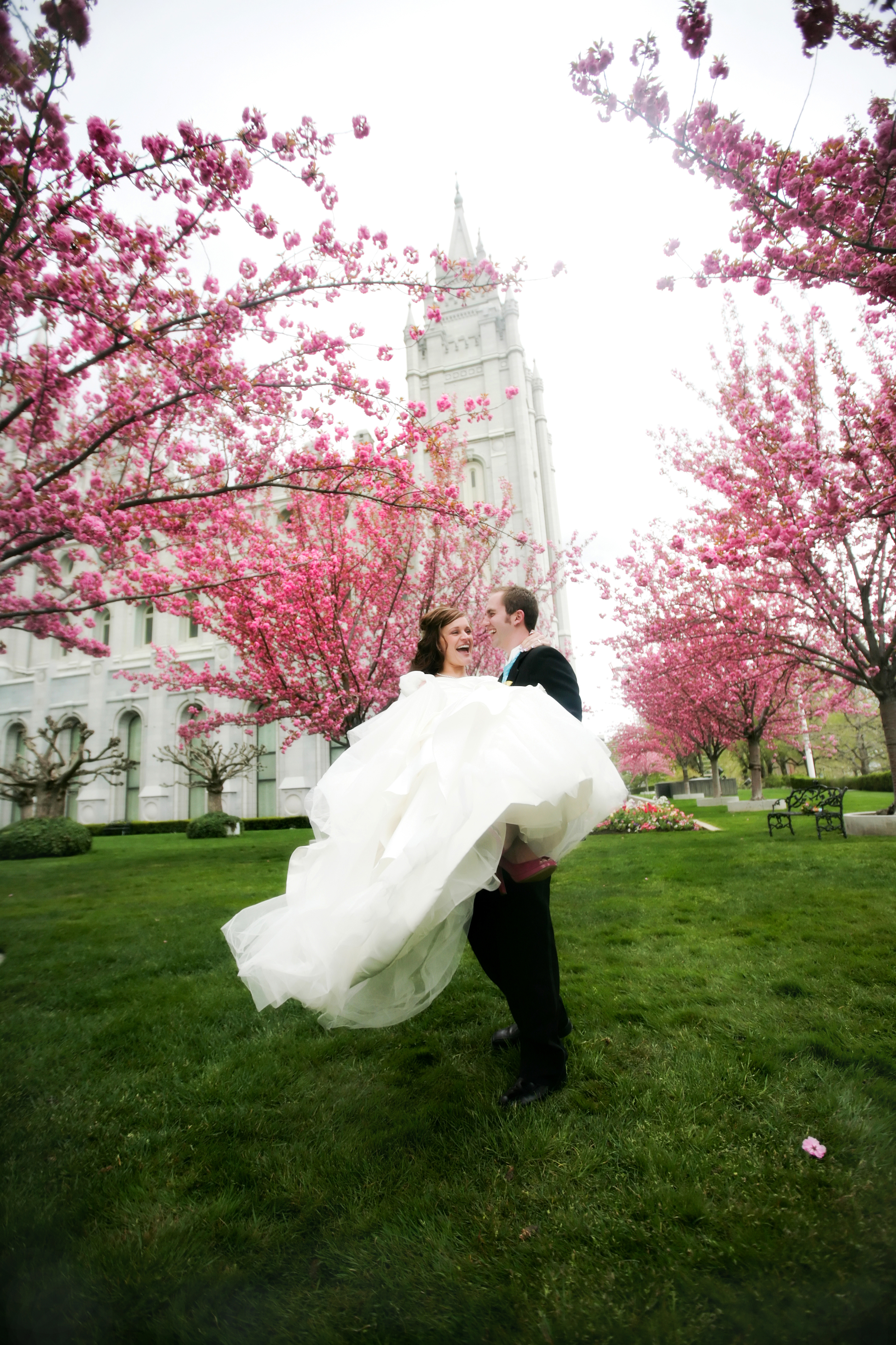 salt lake city lds temple wedding photography