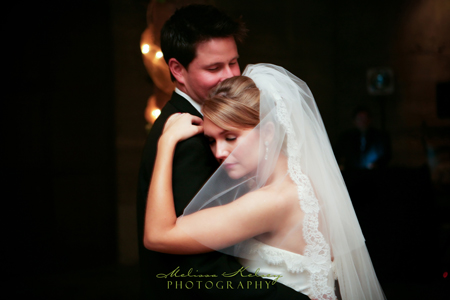 first dance at wente vineyards wedding