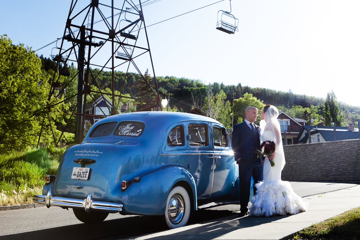 town lift bridge wedding