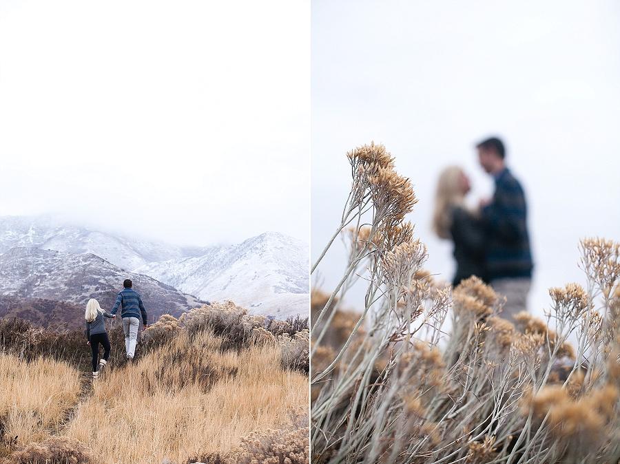 outdoor engagement photos utah