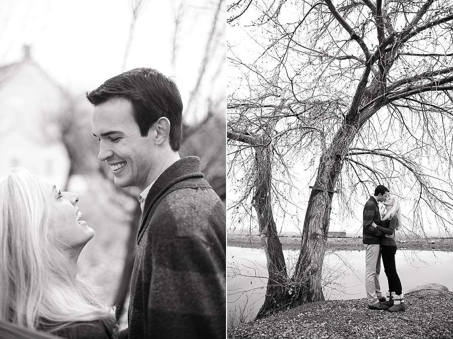 outdoor engagement photos utah