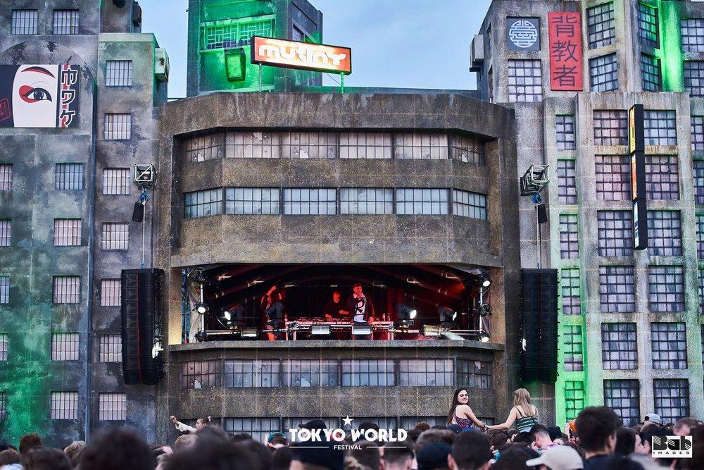 Arcline 8 at Tokyo World