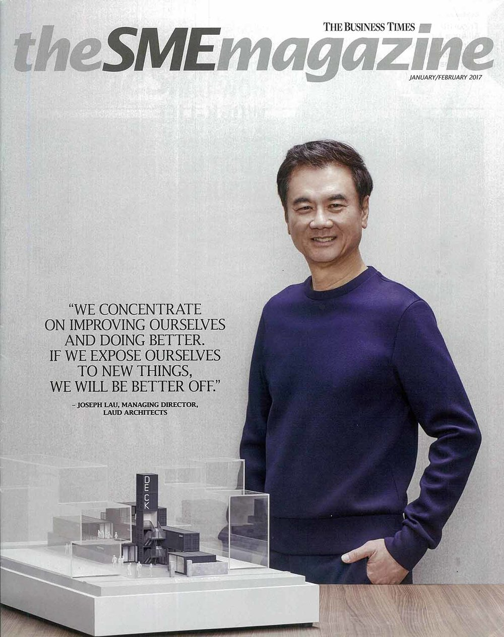 SME Magazine feature, Jan 2017 issue