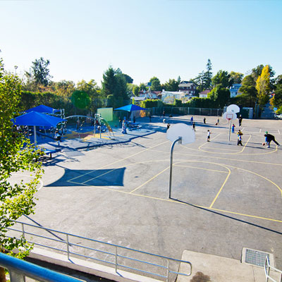 Oakland Unified School District Glenview Elementary School Playground