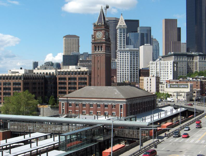 King Street Station and Its Clocktower