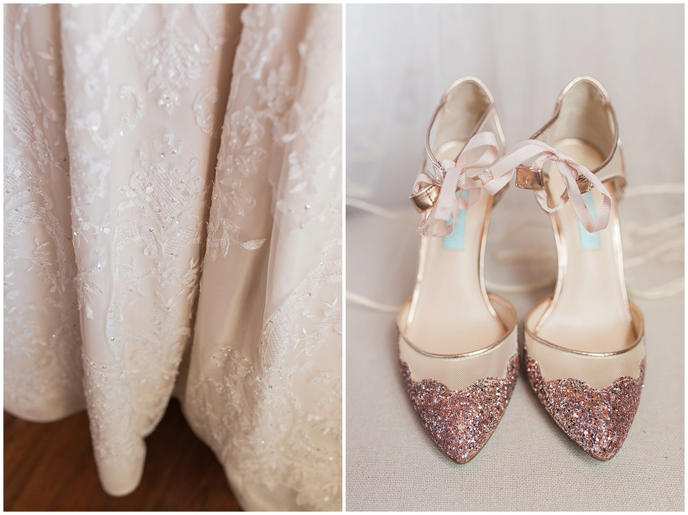 O my gosh! I loved her shoes. I love anything sparkle, but to take the cake, they were by my fave, Betsy Johnson.