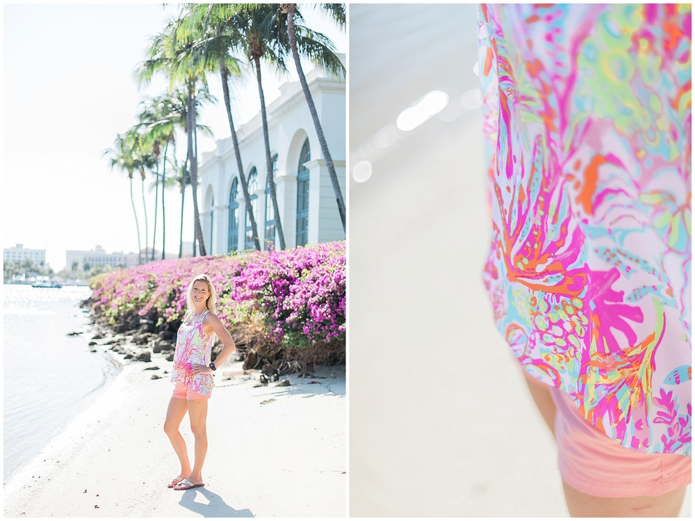Lilly Pulitzer  , her fave & the perfect Palm Beach Island biking attire