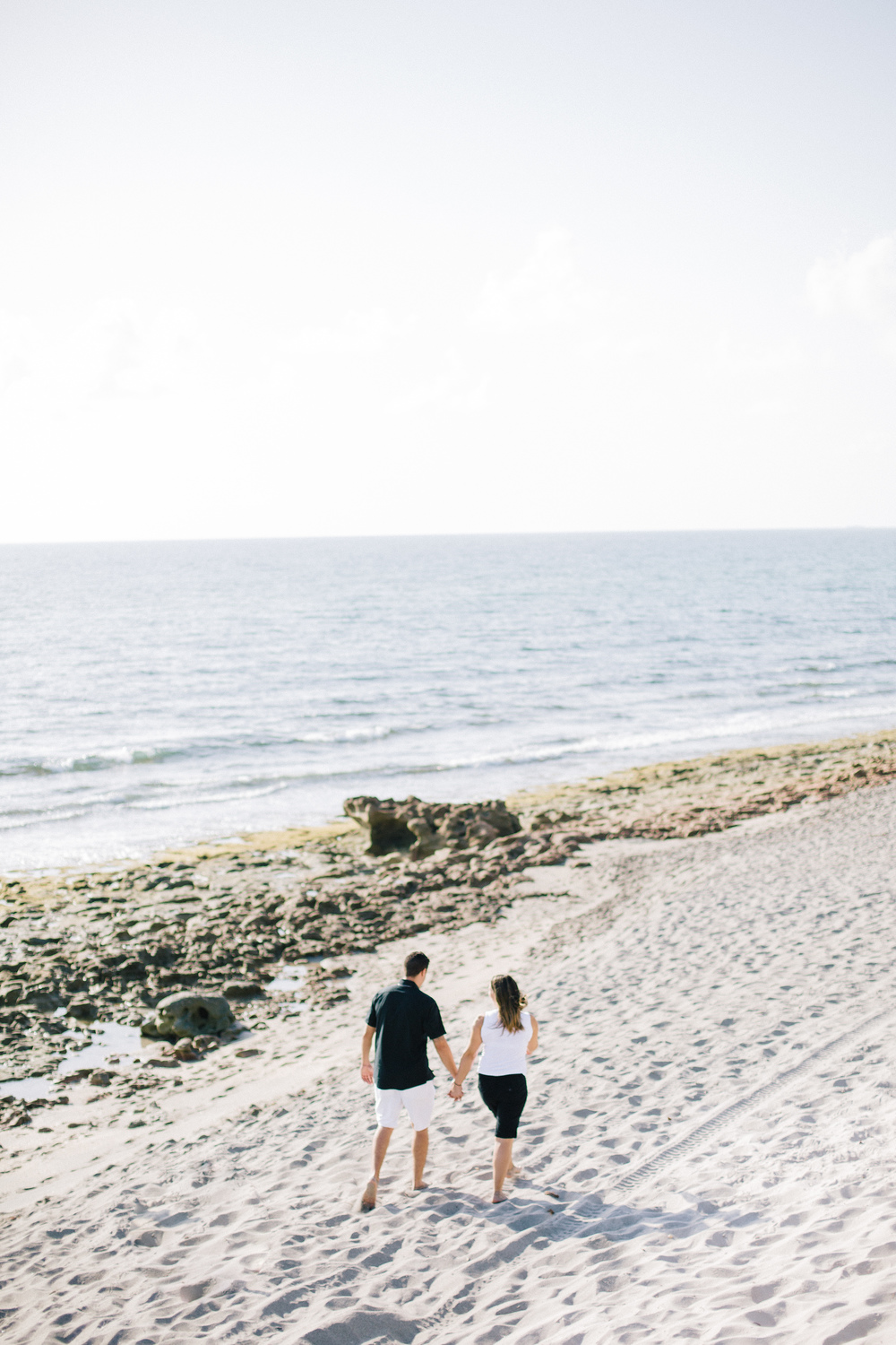 coral cove engagement photos, palm beach engagement photos