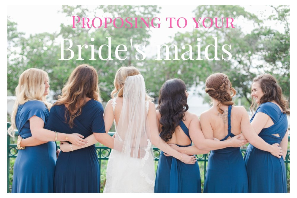 kimberly smith photography- bridesmaid proposal