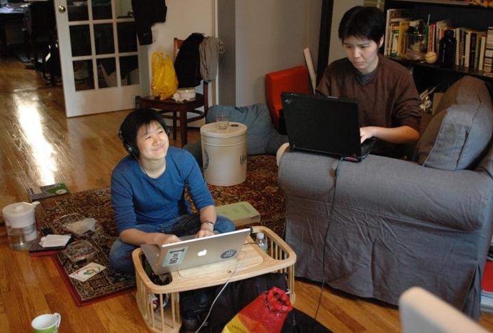 Q-Wavers translating multi-language videos for parents of LGBTQ Asian & Pacific Islander children.
