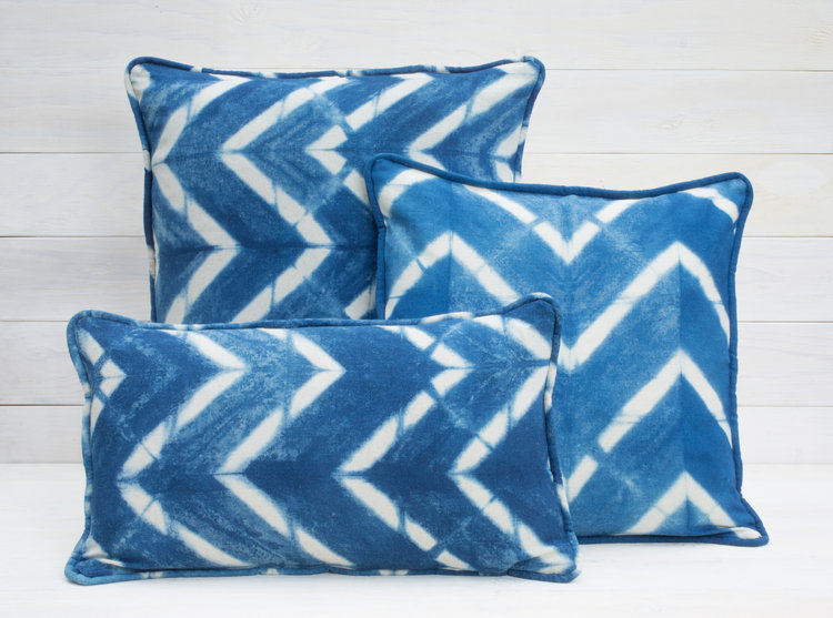 pillow front products designs pillows in large cobalt small atwood sky shibori rebecca blue
