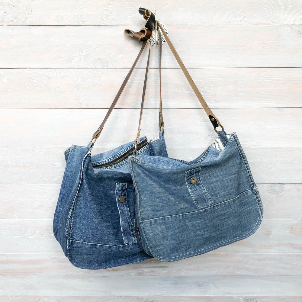 Boyfriend Jeans Hobo Bag