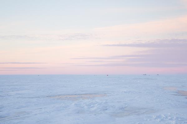 Sweet Spirit Apothecary frozen Lake Winnipeg