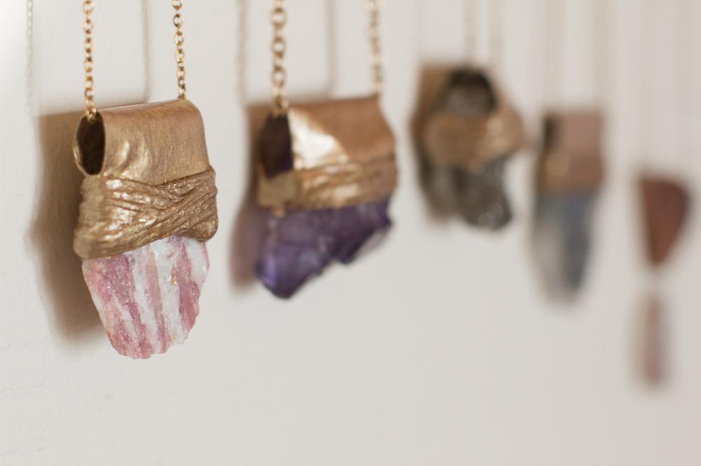 Sweet Spirit Apothecary crystal pendants