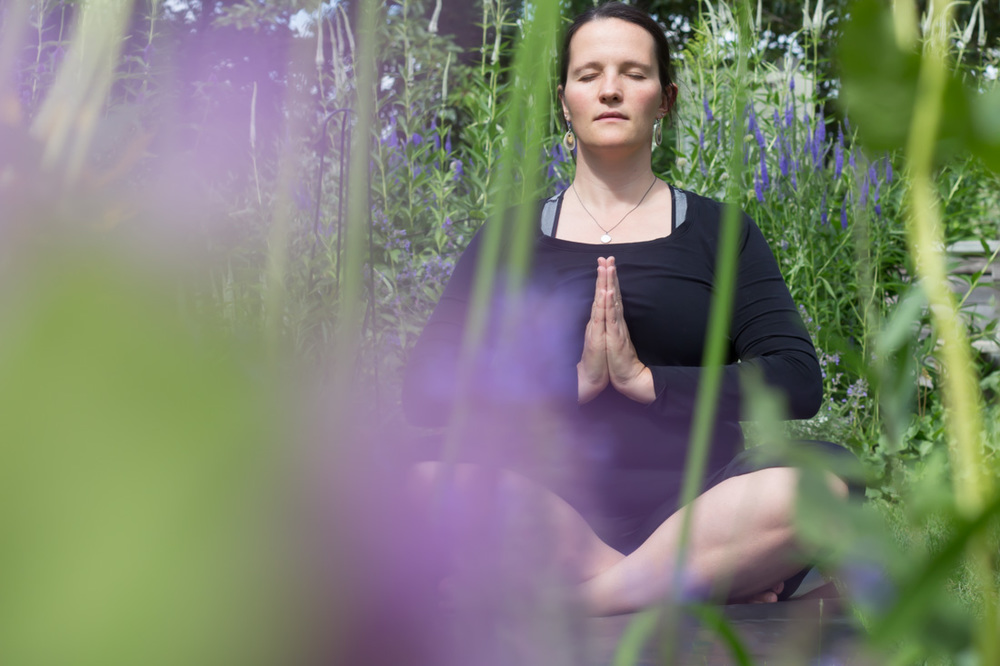 Garden Yoga // via www.thebotanical.ca