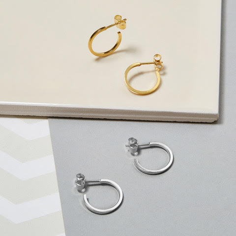 MINI HOOP EARRINGS -