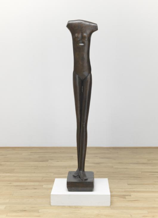 Egyptian influence - Giacometti has an enduring fascination with Egyptian sculpture and a few of them can be seen in one of the rooms. I particularly like the way of the sinuous curves that evokes the sensuality of femininity.