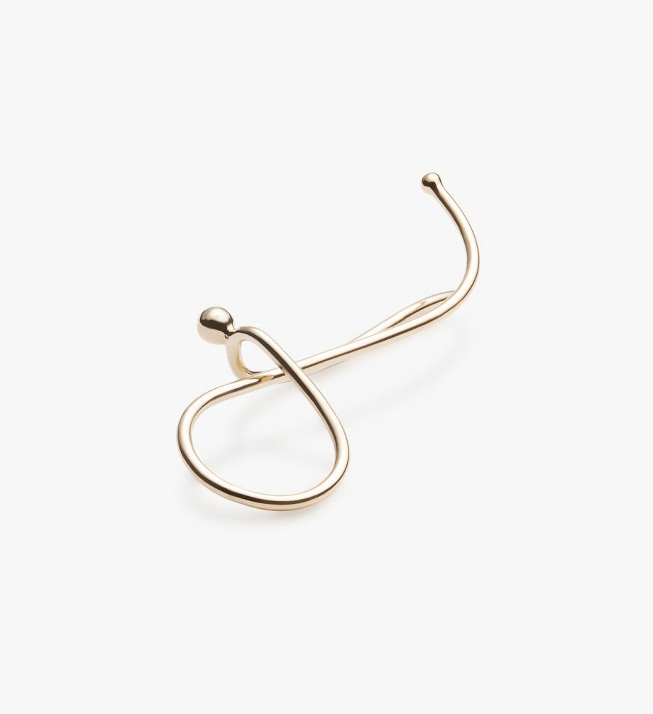 Spiral earring II -