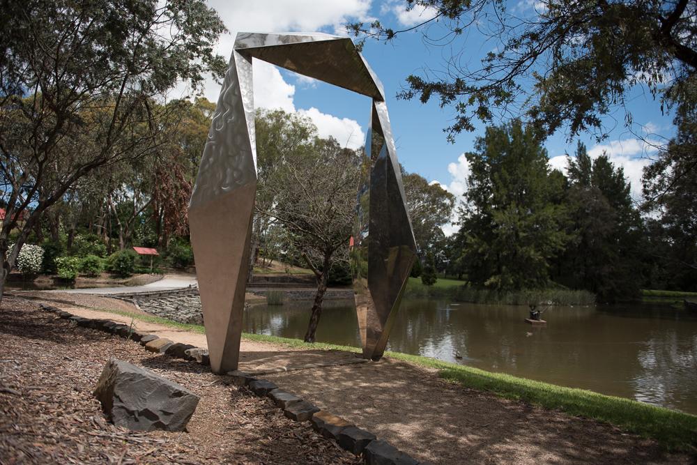 Federation Arch, Bert Flugelman, Botanic Gardens