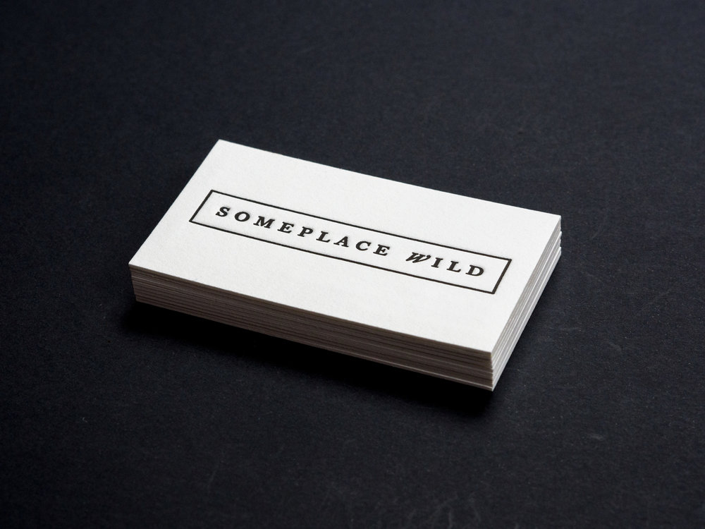 Someplace Wild Business Cards |  View Project