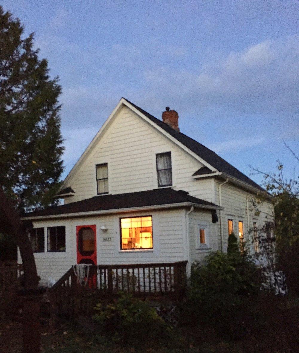 Farewell to our fourth rental house on Vashon