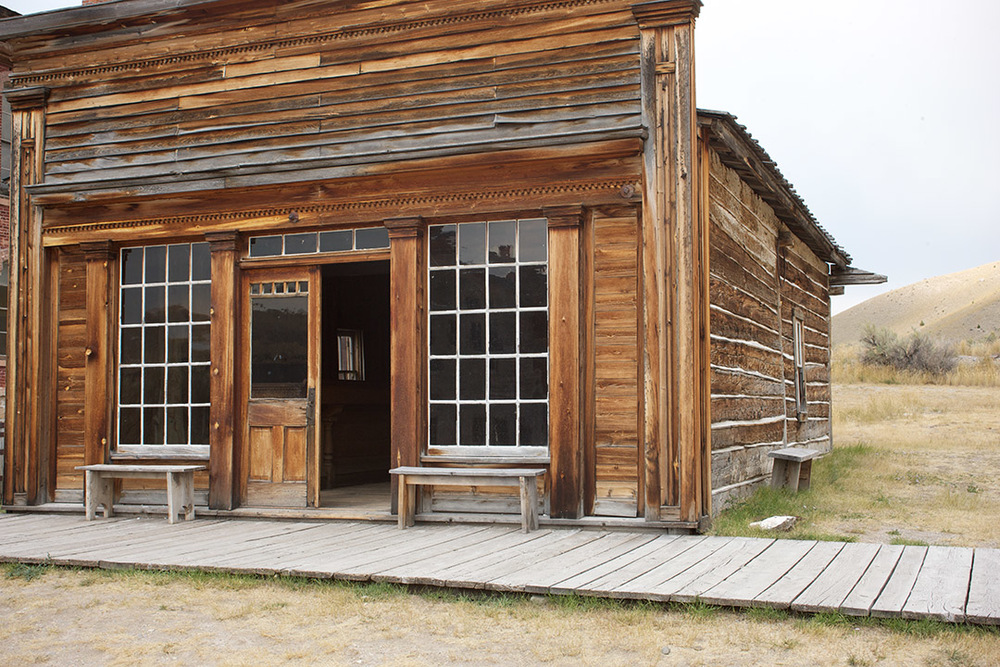 Elkhorn Saloon, Bannack, Mt.