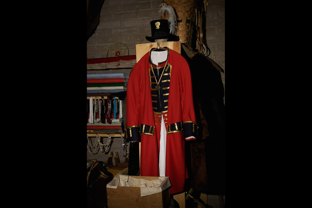 Trader's Chief Coat and Hat