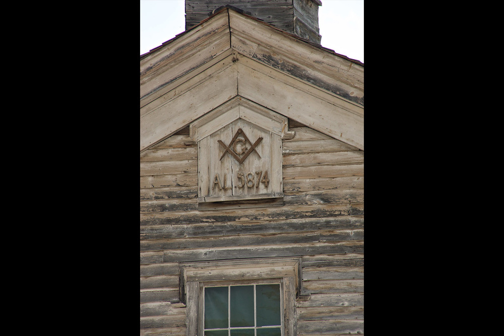 Freemason's Lodge, Bannack, Mt.