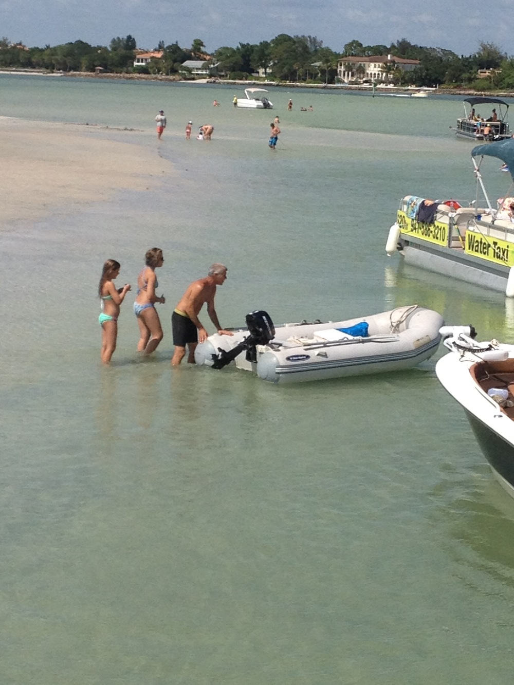 Siesta Key Sand Bar Hoping