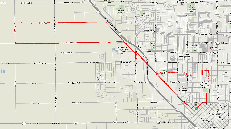 modesto-half-marathon-2013-route