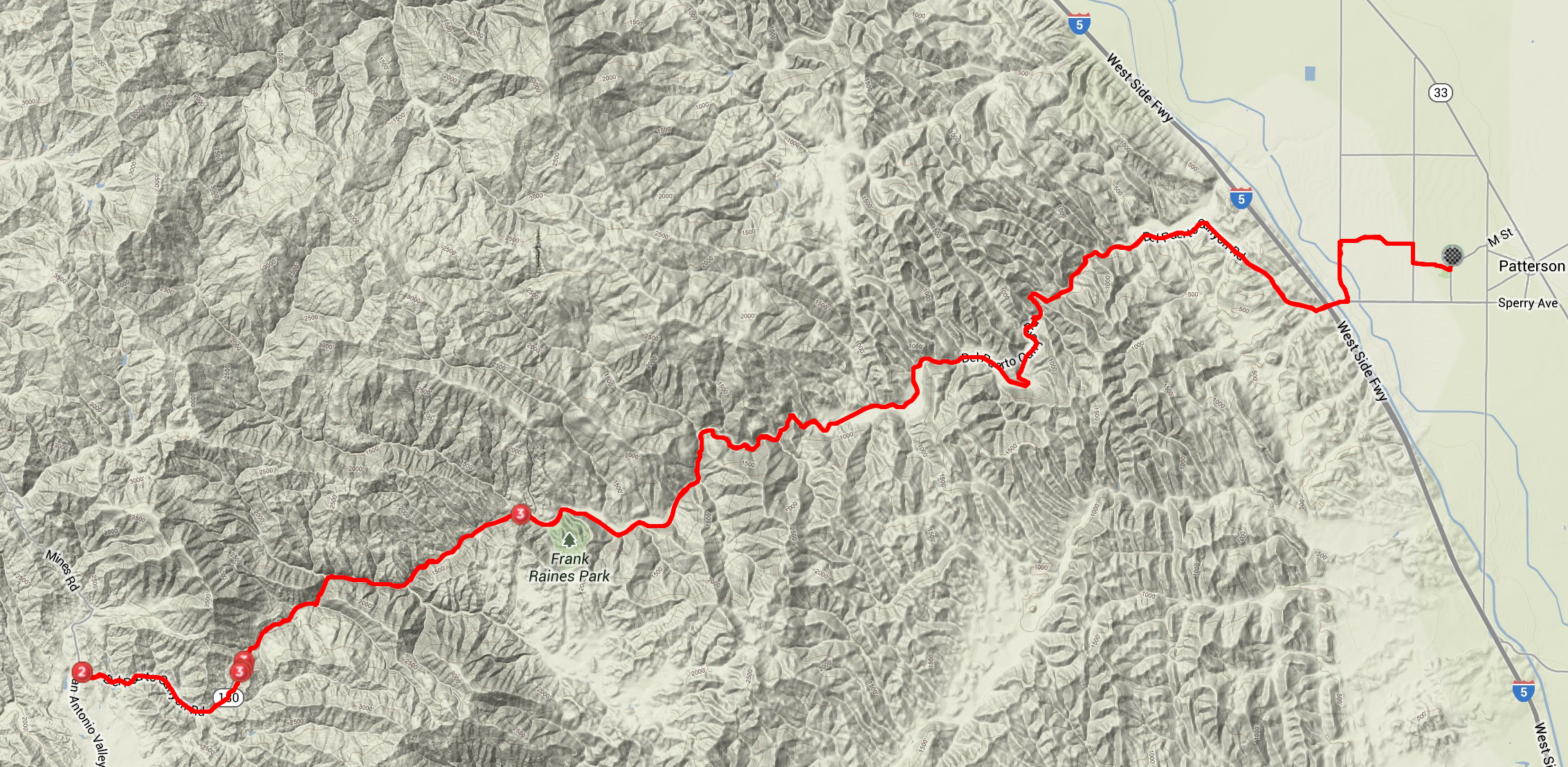 canyon-classic-century-2013-matt-beckwith-strava