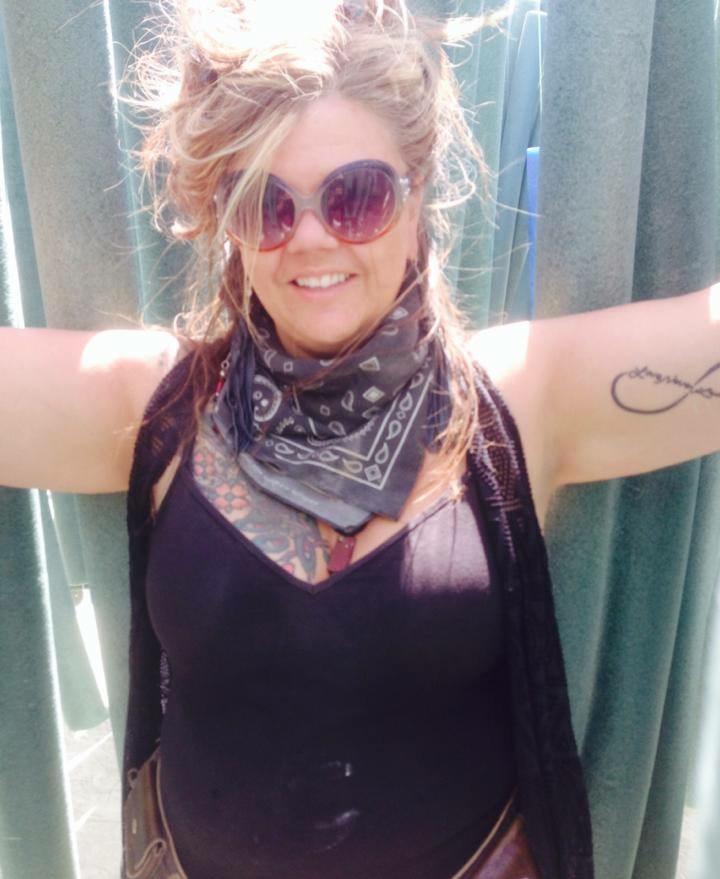 Jenny-Faye Klooster, at Burning Man
