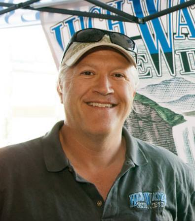 Steve Altimari, President and Brewmaster of High Water Brewing.