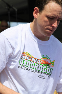 Joey Chestnut, Asparagus Festival
