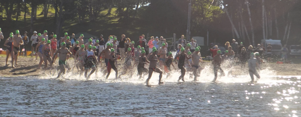 The start of the 2016 USMS Open Water 10-mile National Championship