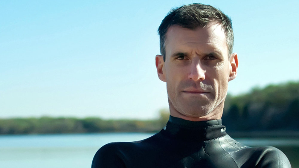 Ben Lecomte plans to swim across the Pacific Ocean next year (photo from NPR)