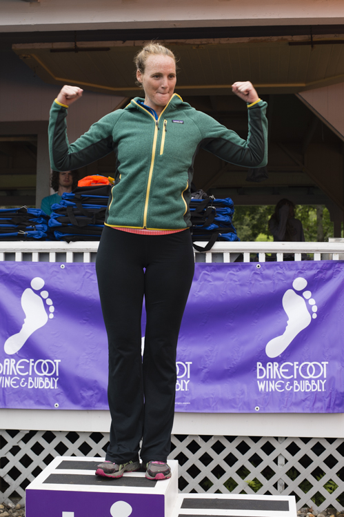 Mindy Williams (GSP) was third overall female and won her age group.