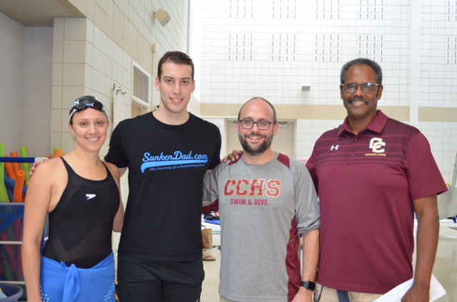 Szekely & Pereiro Carril with Coaches Goldberg and Moss.