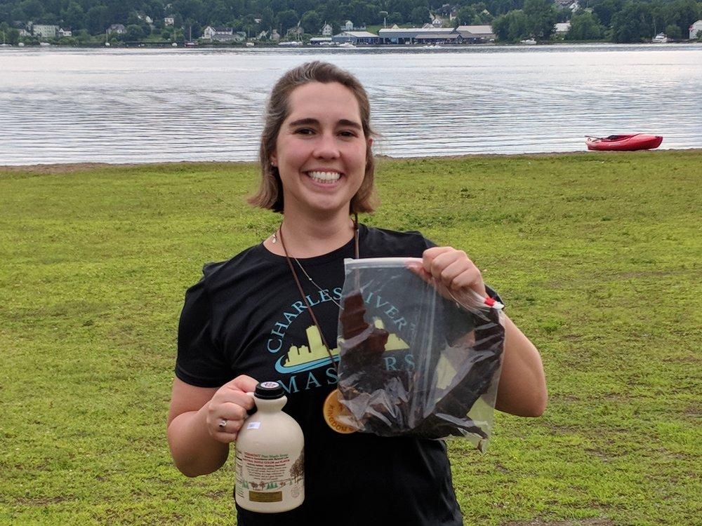 Alana Aubin post-10km victory