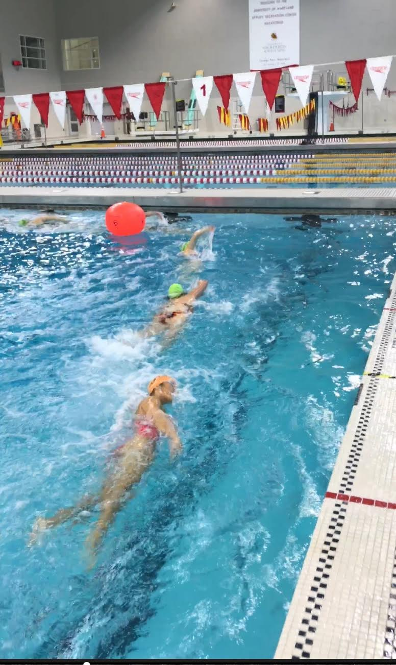 Open Water Drafting and Buoy Turn Skills in the Pool