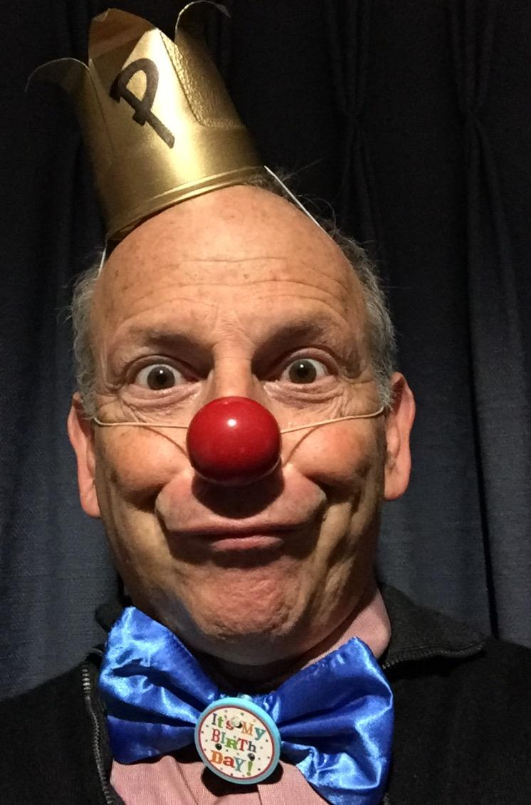 "We aren't clowning around when we tell you how much we love Larry's new play ""Think for Yourself"""