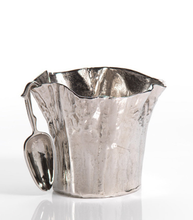 Aluminum Ice Bucket with Scoop
