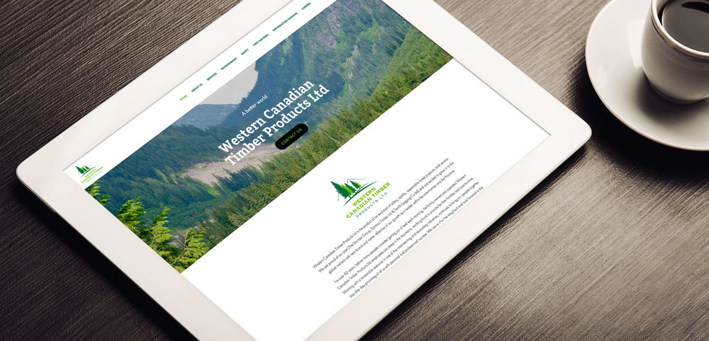 Western Canadian Timber Products Ltd. Website