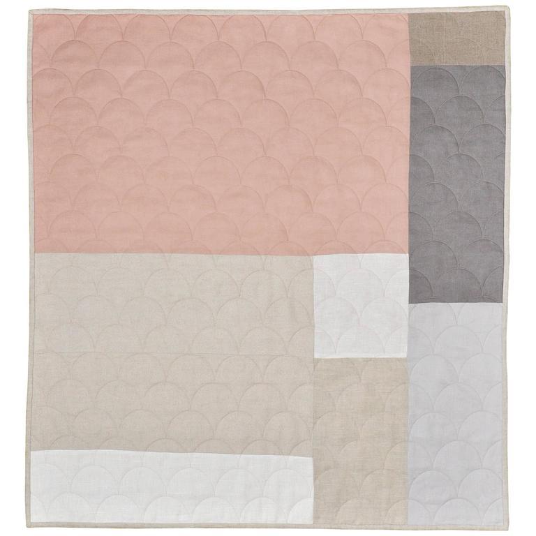 Katie Larmour Design, Luxury Irish Linen Brand, Contemporary Patchwork Quilt Handcrafted in Ireland.jpg .jpg