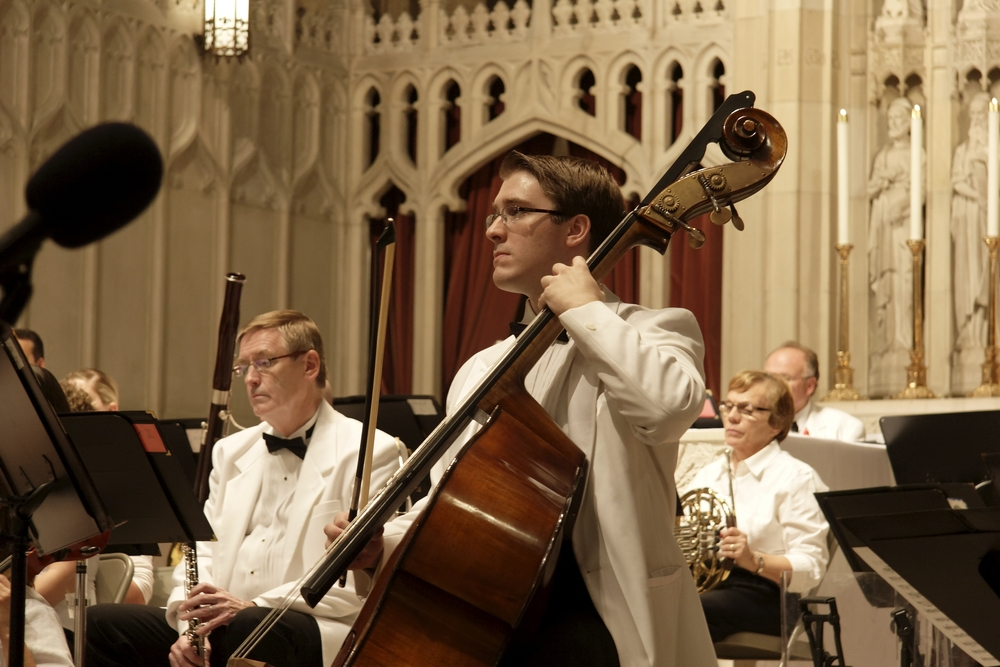 Joseph with the Ocean State Summer Pops Orchestra