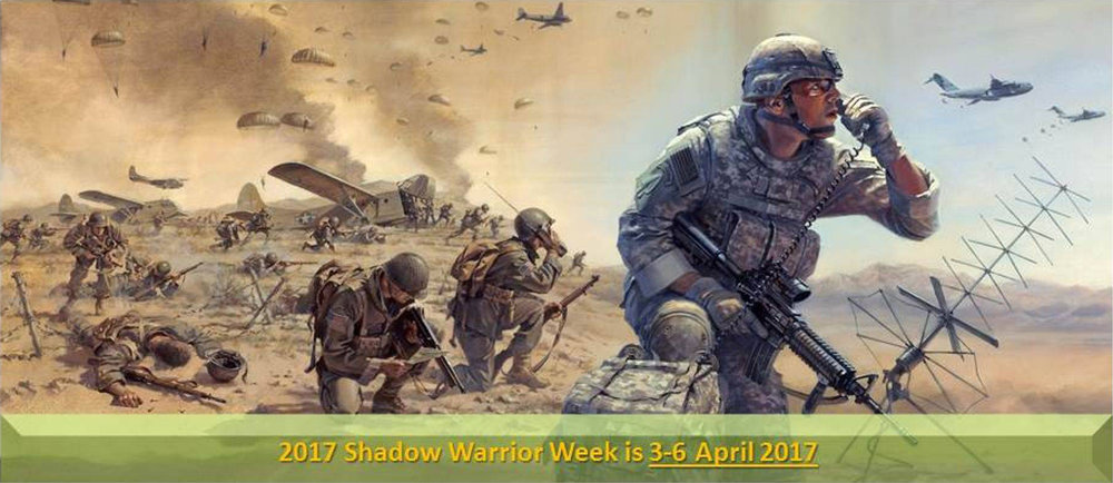 Tricom Research Inc. Will be exhibiting at the 2017 Shadow Warrior conference this year. The conference is being held in Fort Bragg, North Carolina during the weeks of April 3-6. We look forward exhibiting our latest designs and products. Stop by our booth and see what 2017 has in store for everyone.