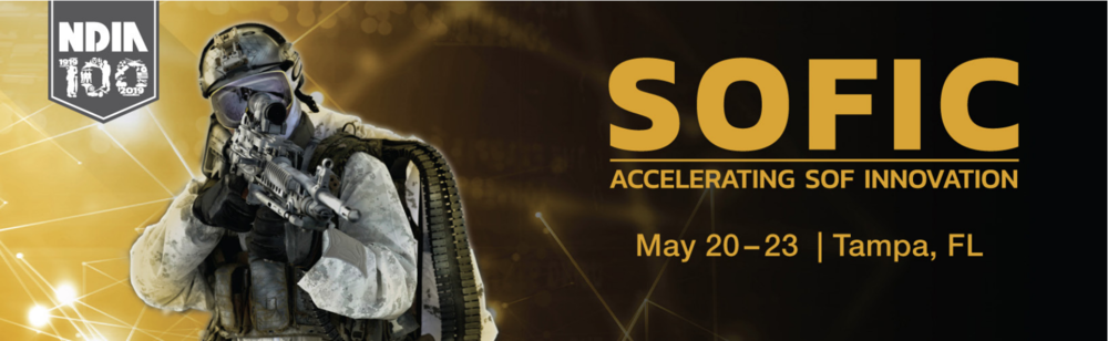 Mark your calendars: #SOFIC is May 20 - 23 at the Tampa Convention Center. Visit SOFIC.org for more information and be sure to visit Tricom Research (Booth 352) to see the latest in RF communications.