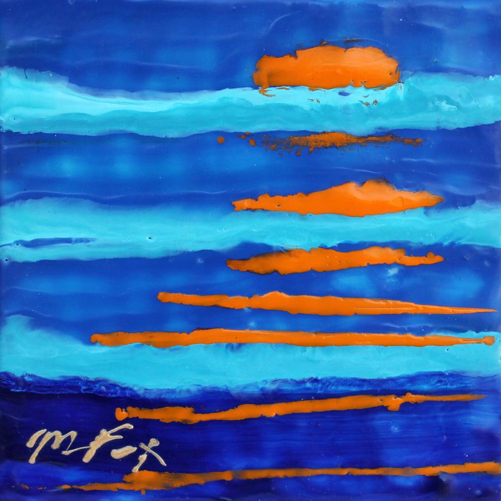 "Endless Sea, 6"" x 6"", Maura Fox"