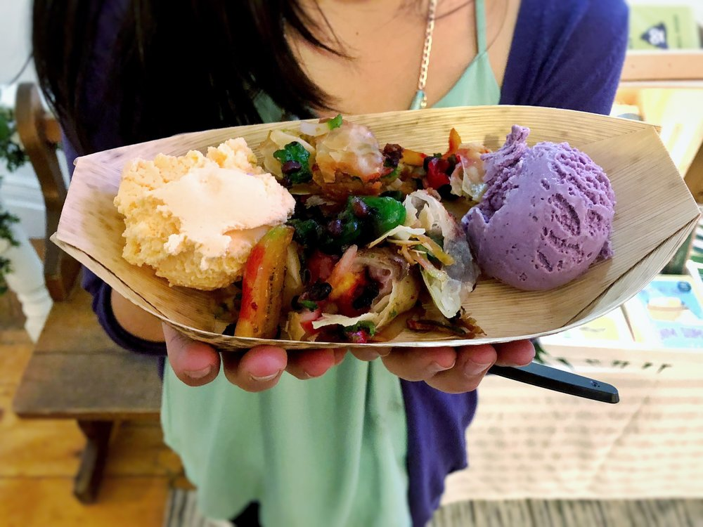 The irresistible deep-fried halo halo