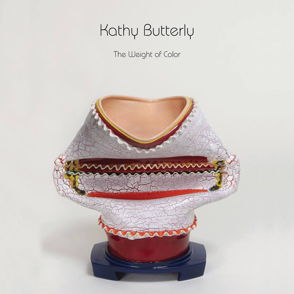 "Opening this Saturday, 5 - 7 PM! Kathy Butterly - ""The Weight of Color"" #shoshanawayne #shoshanawaynegallery #kathybutterly #art #ceramics"